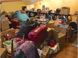 Tidy-Wild-Organizing-Home-Library-Before