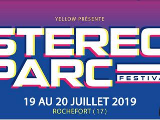 STEREOPARC 2019 : Le festival de nouvelle aquitaine annonce un 1er Dj jeudi 17 Janvier