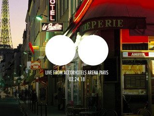 Point Point publient leur warm up de DJ Snake à l'AccorHotels Arena