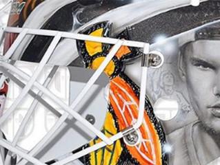 LES GARDIENS DE LA NHL RENDENT HOMMAGE À AVICII AVEC UN MASQUE INCROYABLE