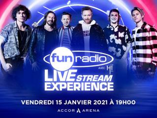 Découvrez le line-up incroyable de nos confrères de Fun Radio pour leur prochain Live Stream