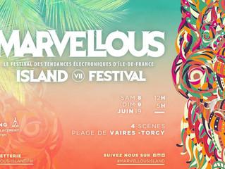 Marcel Dettmann, Kobosil ou Nina Kraviz Les 1er noms de la line up musclé du Marvellous Island 2019