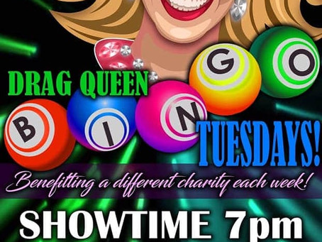 Drag Bingo at Punky's Bar and Grill TONIGHT Benefiting Project No Labels