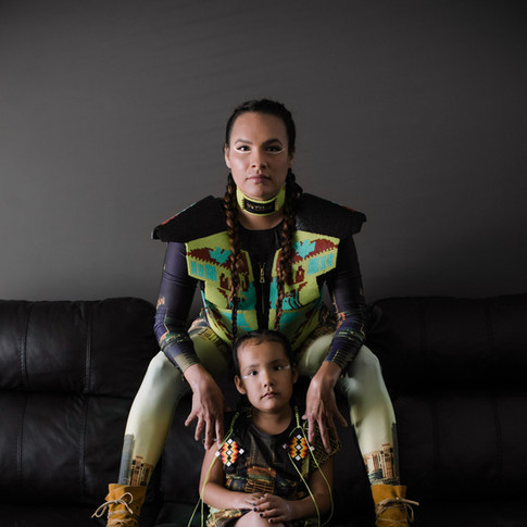 The Word Warrior and daughter Lyrikah
