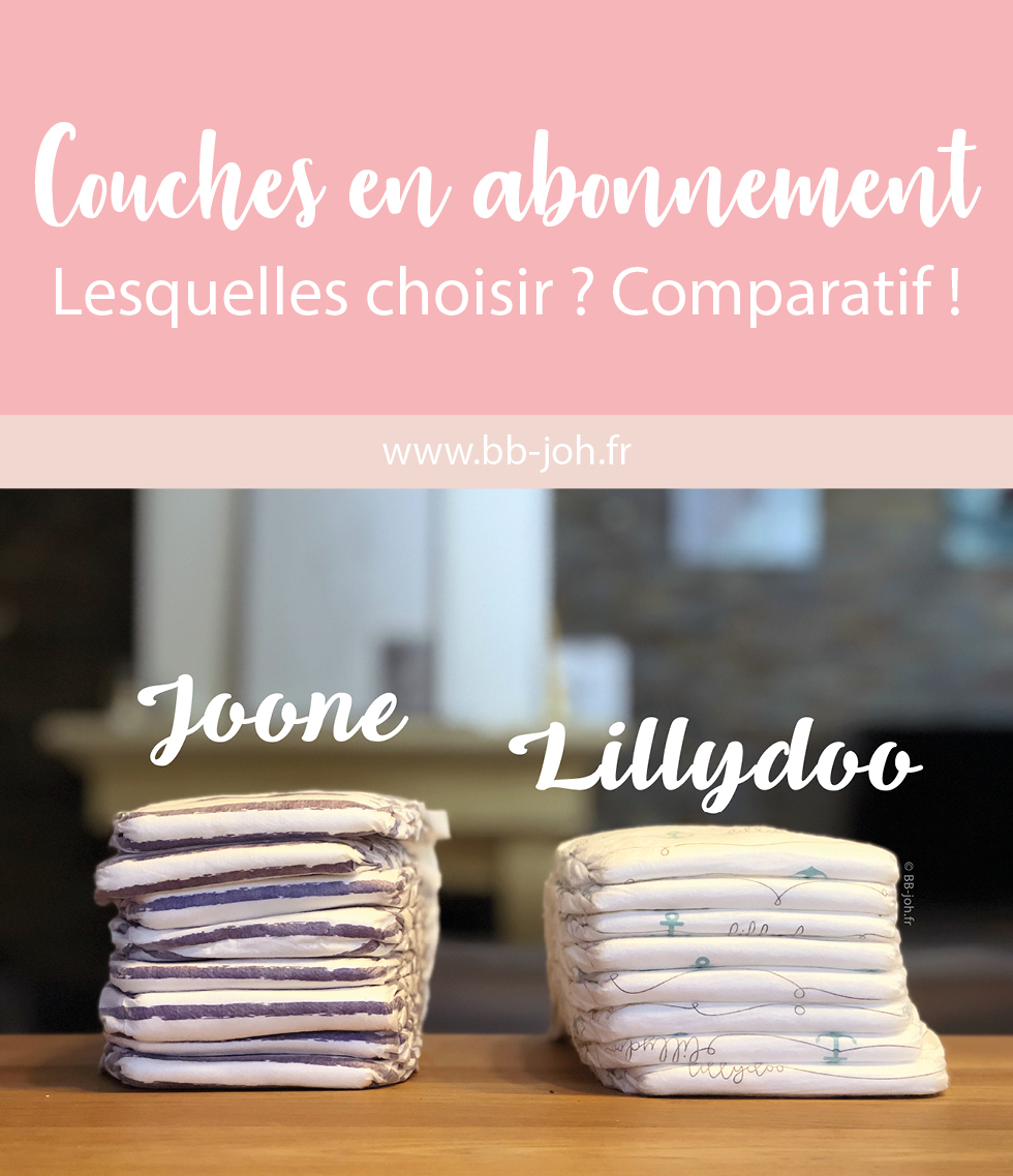 Lillydoo Vs Joone Test Des Couches En Abonnement