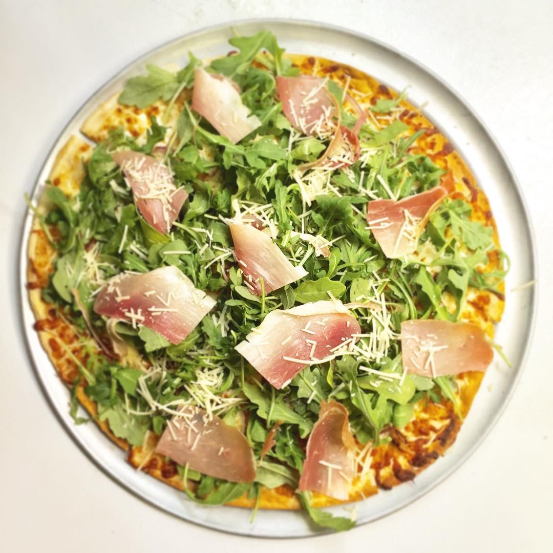 Arugula-Prosciutto Pizza