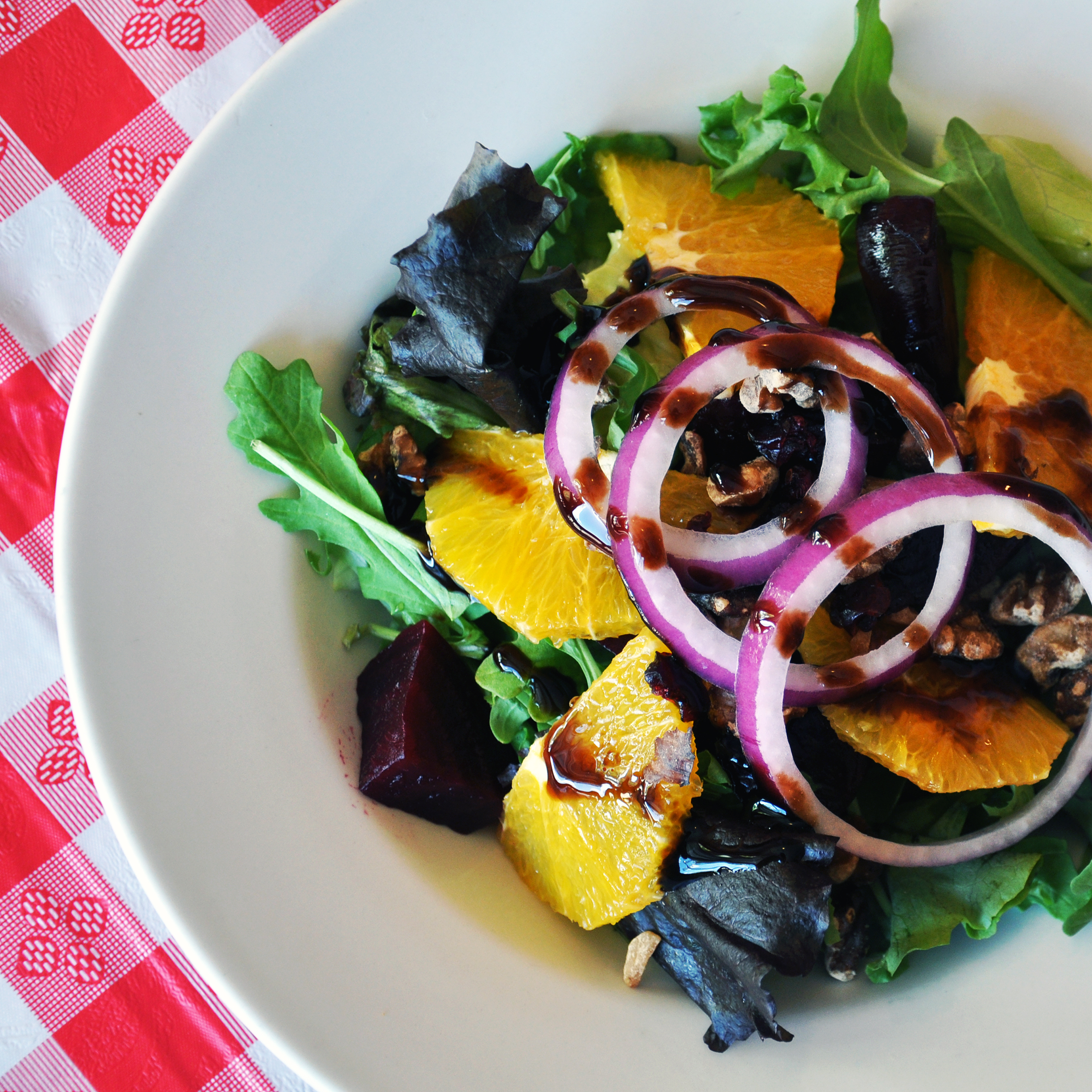 Beets and Orange Salad