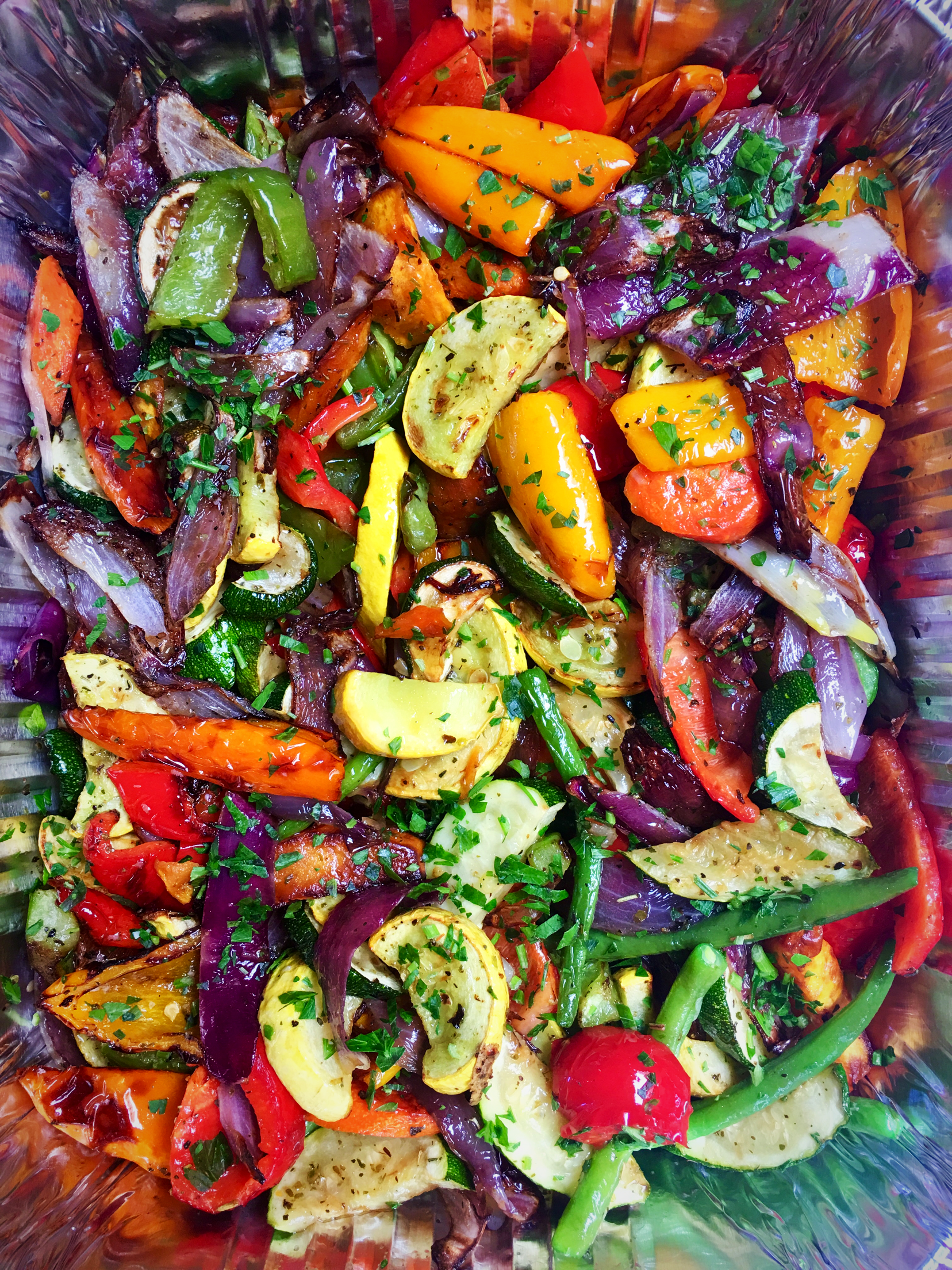 Roasted Veggies Catering