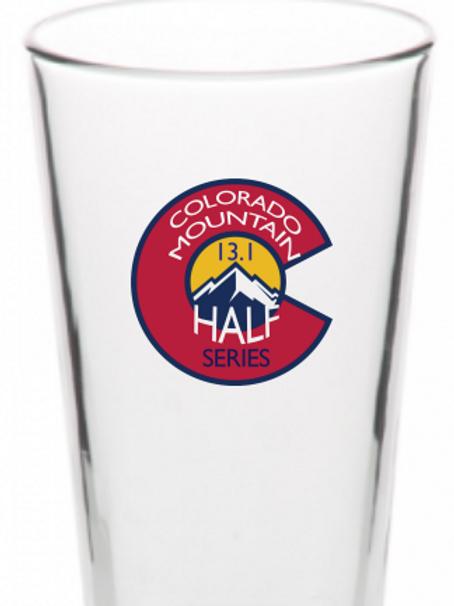 Colorado Mountain Half Series Pint Glass