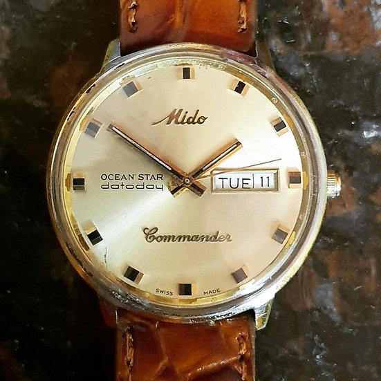 Mido Ocean Star Commander. Chronometer movement. Monocoque case