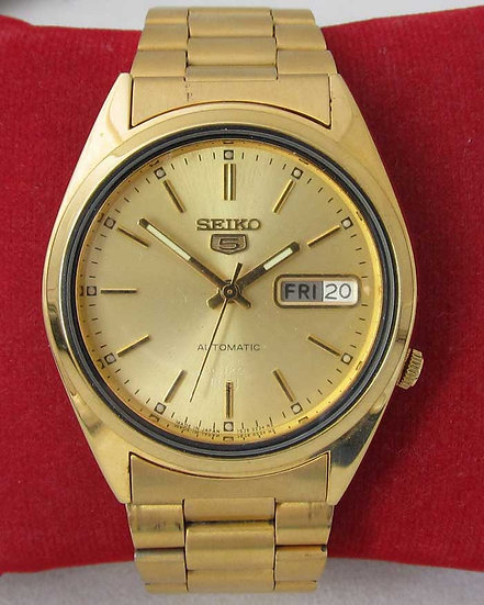 Seiko 5 (gold plated)