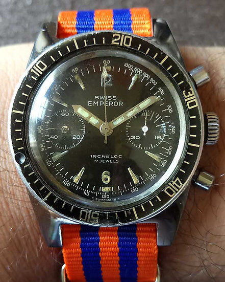 Swiss Emperor Diver's chronograph