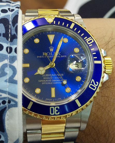 Rolex Submariner bluesy