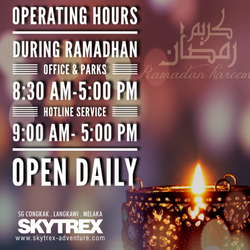 Ramadhan Operating Hours
