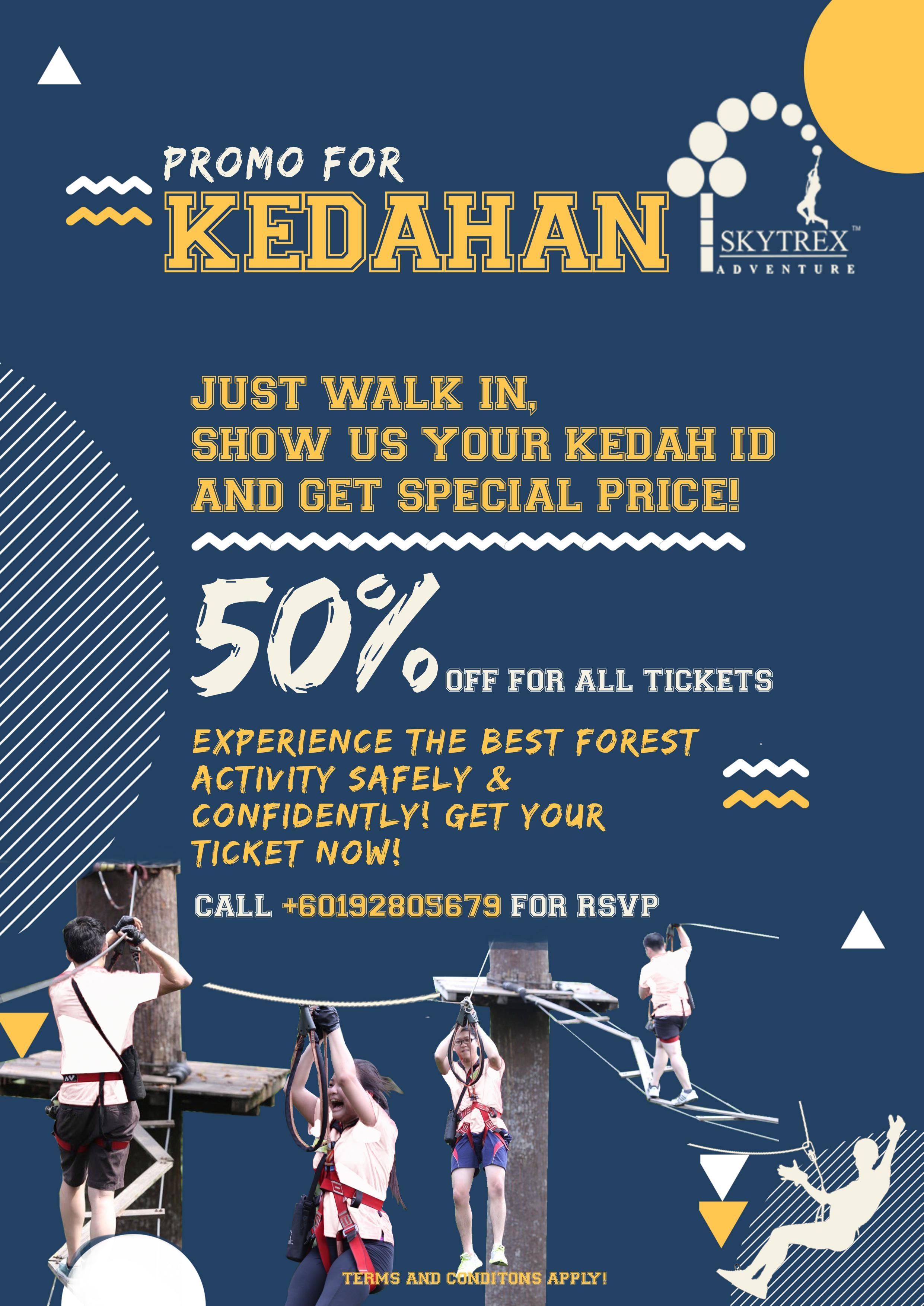Kedahan Specials for Skytrex Langkawi