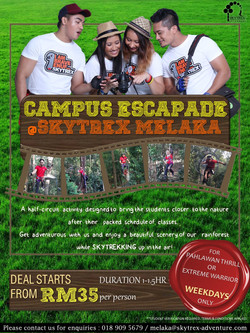 CAMPUS ESCAPADE