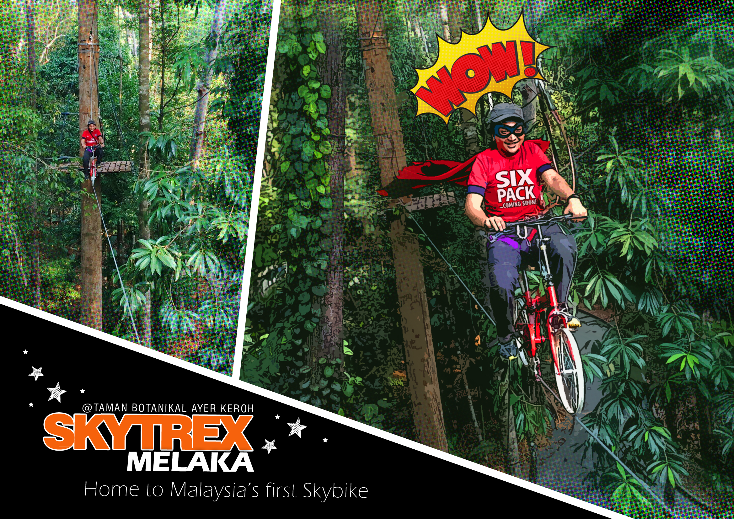 First Skybike in Malaysia!