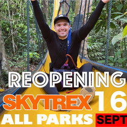 REOPENING OF PARKS ON 16 SEPTEMBER
