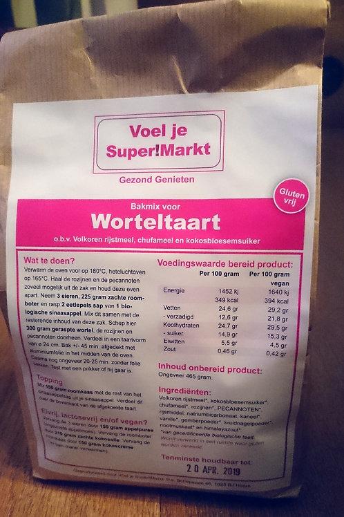 Bakmix voor glutenvrije Worteltaart
