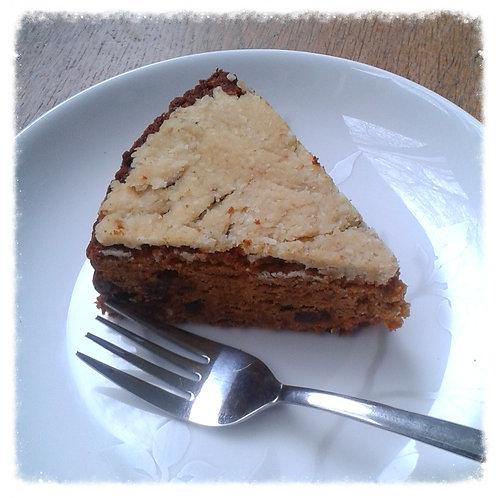 Worteltaart, hele taart