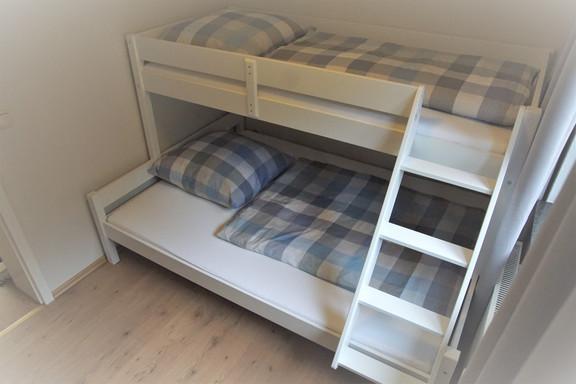 De derde slaapkamer