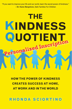 KINDNESS QUOTIENT signed by author