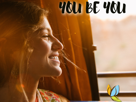 "It's not ""you do you."" It's ""you be you."""