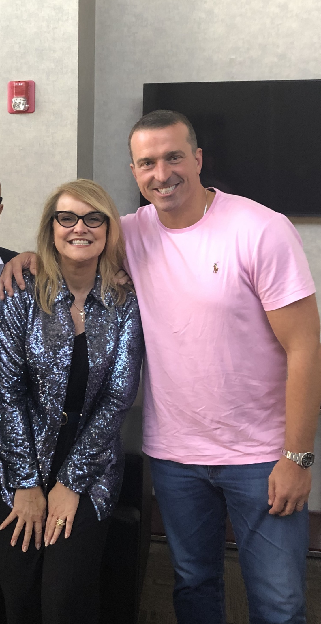 Rhonda Sciortino and Chris Herren