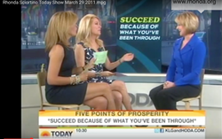 Rhonda tells Kathie Lee and Hoda what it means to succeed because of what you've been through