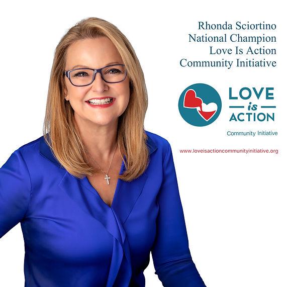 Rhonda Sciortino Champion Love Is Action