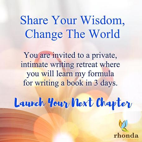 Writer's Retreat Rhonda Sciortino