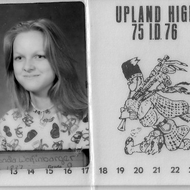 The ID card that led to Rhonda's first job
