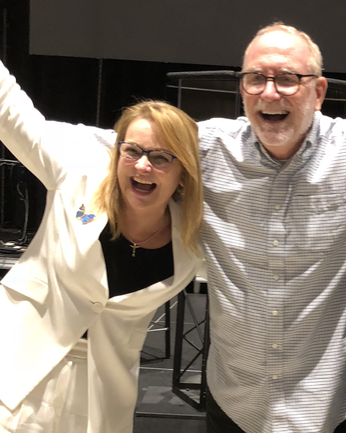Rhonda Sciortino and Bob Goff