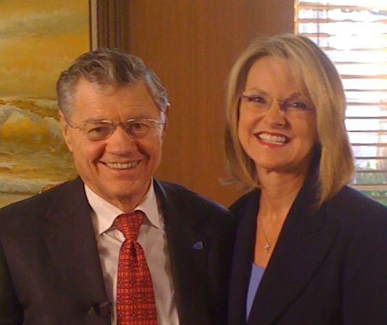Rhonda Sciortino & Tom Monaghan
