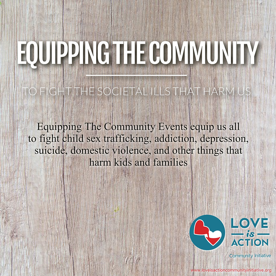 Equipping The Community To Fight Societal Ills