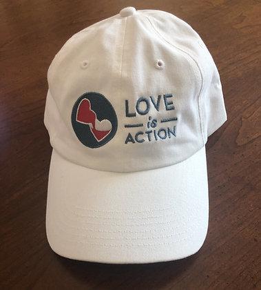 Love Is #loveis ball cap hat
