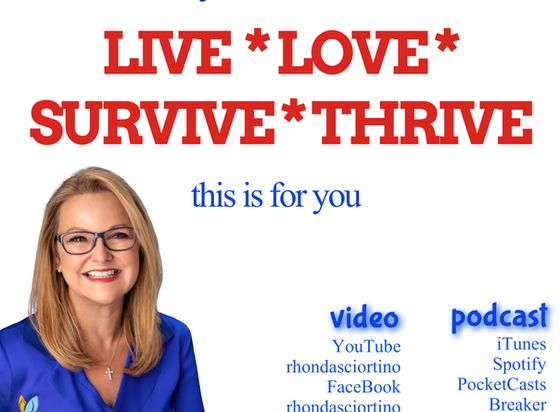 You Want To Live Love Survive And Thrive, right?