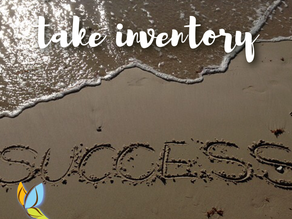 Succeed--Start By Taking Inventory