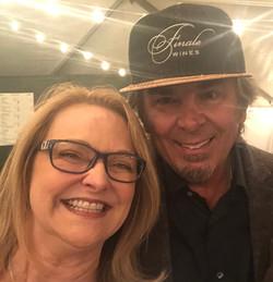 Rhonda Sciortino and Jonathan Cain of Journey