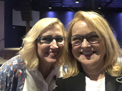 Rhonda Sciortino and Brenda Green