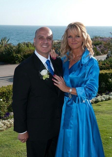 Rhonda with her husband Nick
