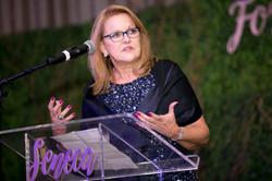 Rhonda Sciortino Receiving Forever Family Award