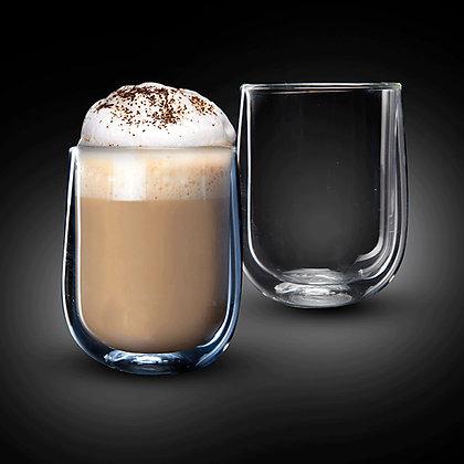"""זוג כוסות 250 מ""""ל Double Glass דגם VENEZUELA"""