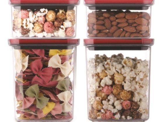 סט 4 קופסאות אחסון TWIST IT מבית Food Appeal