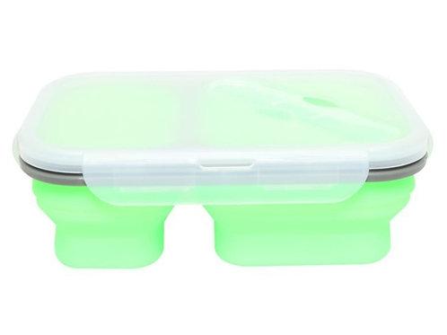 קופסת אוכל - ירוק