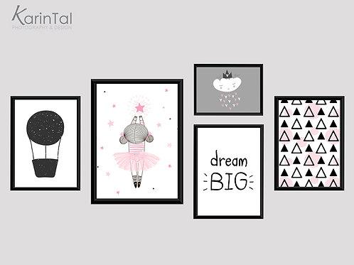 Dream big ballerina - 5 pic