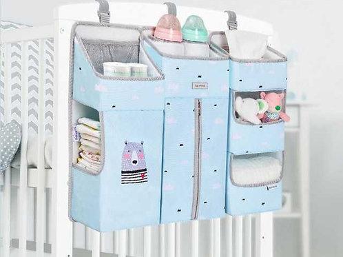 ארגונית למיטת תינוק צבע תכלת