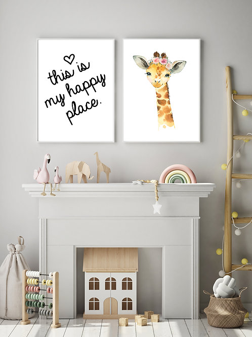 Giraffe - 2 pic