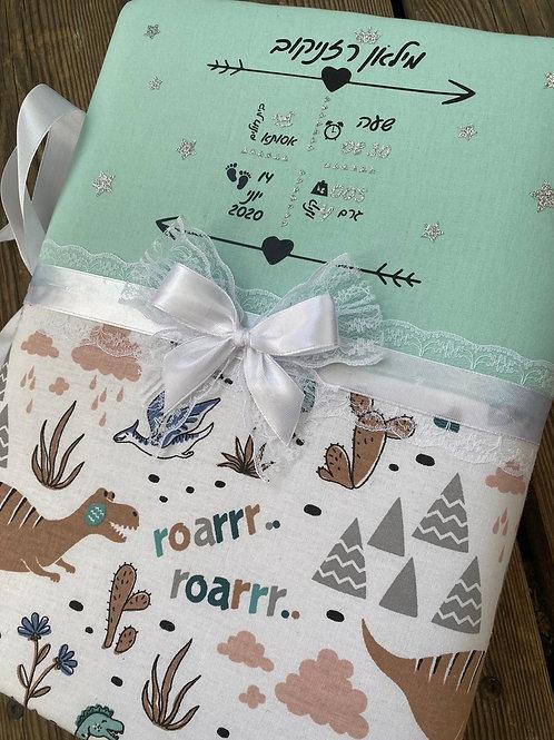 אלבום תעודת לידה לתינוק   אלבום תמונות לתינוק   אלבום מעוצב בנים בנות