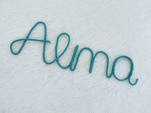 שמות ואובייקטים סרוגים לחדרי ילדים | אקססוריז לחדרי ילדים